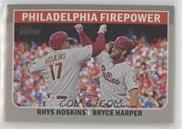 Bryce Harper, Rhys Hoskins