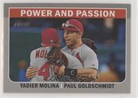 Paul Goldschmidt, Yadier Molina