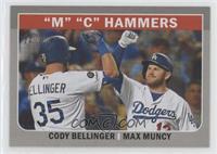 Max Muncy, Cody Bellinger