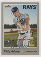 Willy Adames #/70