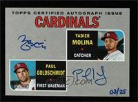 Paul Goldschmidt, Yadier Molina #3/25