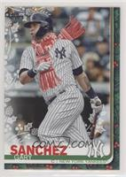 SP Variation - Gary Sanchez