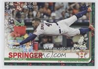 SP Variation - George Springer (Present In Background)