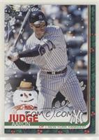 Rare Variation - Aaron Judge (Snowman in Background) [Noted]