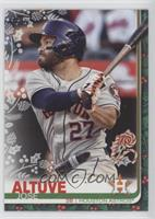 Rare Variation - Jose Altuve (Candy Canes Lower Right Corner)