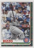 Rare Variation - Anthony Rizzo (Candy Canes in Back Pocket)