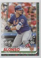 Super Rare Variation - Pete Alonso (Reindeer Socks)