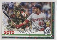 SP Variation - Juan Soto (Christmas Tree)