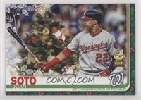 SP Variation - Juan Soto (Christmas Tree)
