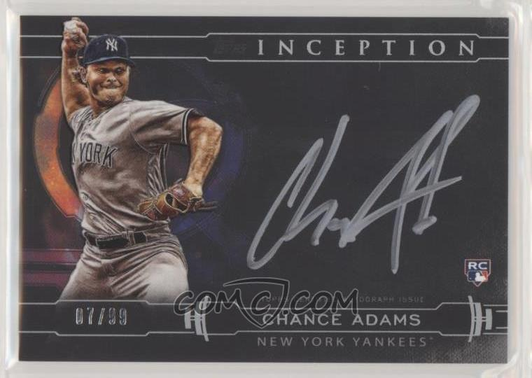 Sweptaway3641s 2019 Topps Inception Inception Silver