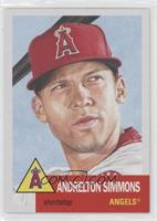Andrelton Simmons [EX to NM] #/8,695