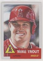 Mike Trout #/22,017