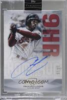 Francisco Lindor [Uncirculated] #/15