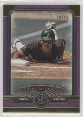 2019 Topps Museum Collection - [Base] - Amethyst #70 - Rickey Henderson /99