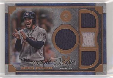 2019 Topps Museum Collection - Primary Pieces Single Player Quad Relics - Copper #SPQR-GS - George Springer /75