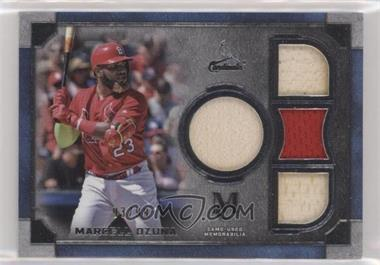 2019 Topps Museum Collection - Primary Pieces Single Player Quad Relics #SPQR-MO - Marcell Ozuna /99