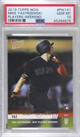 Mike Yastrzemski [PSA 10 GEM MT] #/107