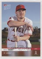 Mike Trout #/643