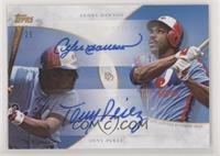 Andre Dawson, Tony Perez #/25