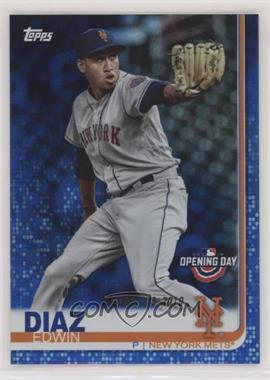 2019 Topps Opening Day - [Base] - Blue Foil #113 - Edwin Diaz