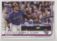 Base - Nolan Arenado (Purple Jersey, Bat in Hand)