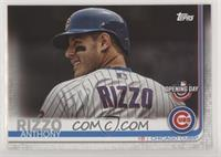 SP Variation - Anthony Rizzo (Horizontal, Back of Jersey)
