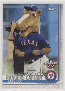 2019 Topps Opening Day - Mascots #M-12 - Rangers Captain