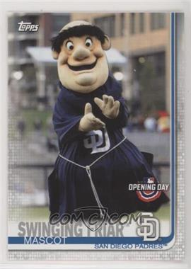 2019 Topps Opening Day - Mascots #M-9 - Swinging Friar