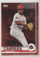 Genesis Cabrera #/10