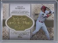 Nolan Gorman #/50