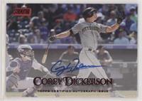 Corey Dickerson #/50