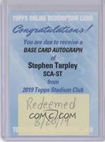 Stephen Tarpley [BeingRedeemed]