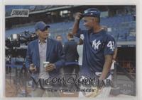 Miguel Andujar (Posed With Reggie Jackson)