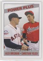 1966 Power Plus Design - Alex Bregman, Christian Yelich #/404