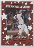 2002 American Pie Sluggers Design - Ronald Acuna Jr. #/677