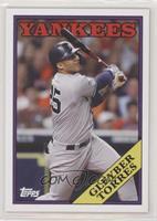 1988 Topps Baseball Design - Gleyber Torres #/875