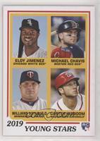 1978 Topps Rookies Designs - Eloy Jimenez, Michael Chavis, Willians Astudillo, …