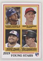1978 Topps Rookies Designs - Vladimir Guerrero Jr., Griffin Canning, Rowdy Tell…