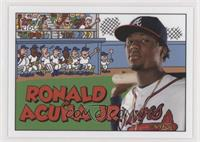 1992 Topps Kids Design - Ronald Acuna Jr. #/583
