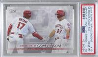 Mike Trout, Shohei Ohtani [PSA 10 GEM MT] #/83