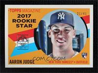 Aaron Judge (2017 Topps Heritage Rookie Stars) #/41