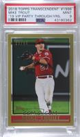 Mike Trout [PSA 9 MINT] #/83