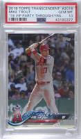 Mike Trout [PSA 10 GEM MT] #/83