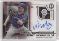 Whit Merrifield /10