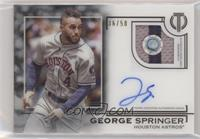 George Springer [EXtoNM] #/50