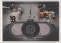 Buster Posey, Andrew McCutchen #/150