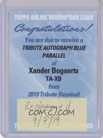 Xander Bogaerts /150 [BeingRedeemed]