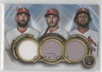 Matt Carpenter, Paul DeJong, Jose Martinez #/36
