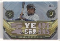 Miguel Cabrera #/36
