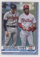 Veteran Combos - Divisional Foes (Harper Visits Freeman at First) #/50